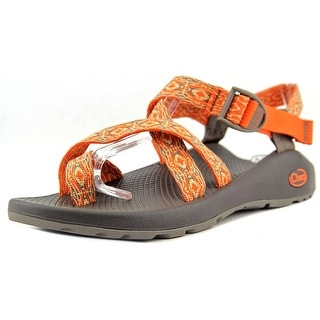 Chaco Z2 Classic Women Open-Toe Synthetic Orange Sport Sandal