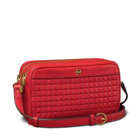 SENA Case Universal Isa Crossbody Leather Hand Bag (Red) - SFD23303GBUS
