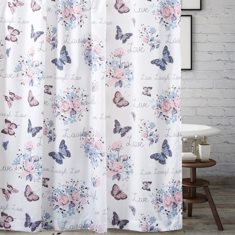 Barefoot Bungalow Garden Joy Shower Curtain