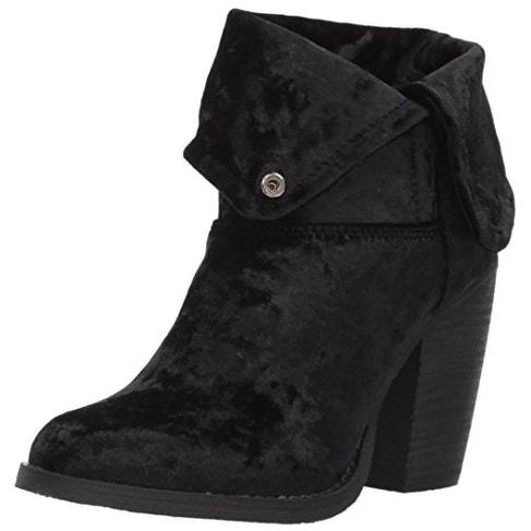 Sbicca Women's Velveteen Ankle Bootie - 10