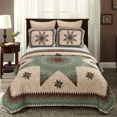 Donna Sharp Sea Breeze Star UCC Quilt Set