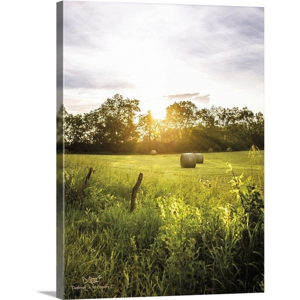 """""""Daybreak in the Country I"""" Canvas Wall Art"""