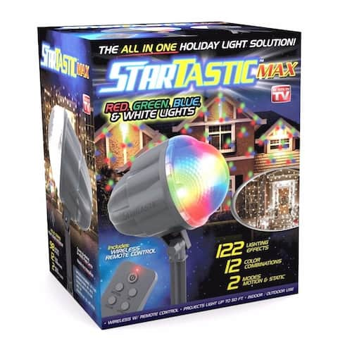 STARTASTIC MAX Remote-Controlled Outdoor/Indoor with 60 Holiday Lights