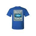 Men's T-Shirt Ford Built Tough Racing Trucks Cars SUV Vintage Repair Shop Tee Front & Back Print - Thumbnail 7