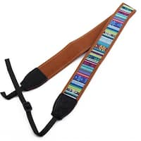 SHETU Authorized Classical Pattern DSLR Camera Shoulder Neck Strap Multicolor