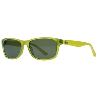 Lacoste L3601/S 315 Acid Green Rectangle Sunglasses - 50-16-130