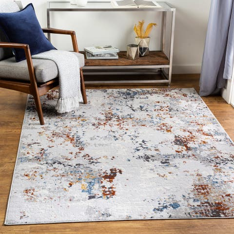 Mikeal Modern Abstract Area Rug