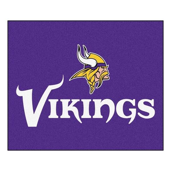 2a9e78cda63 Shop NFL Minnesota Vikings Tailgater Mat Rectangular Outdoor Area Rug -  Free Shipping Today - Overstock - 22622775