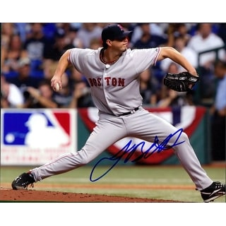Signed Beckett Josh Boston Red Sox 8x10 Photo autographed