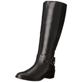 Rose Petals by Walking Cradles Womens Chelsea Leather Wide Calf Riding Boots - 6.5 medium (b,m)