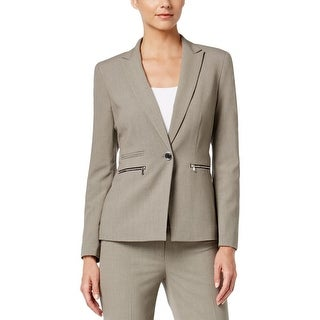 Nine West Womens Casual Blazer Wool Non-Vented