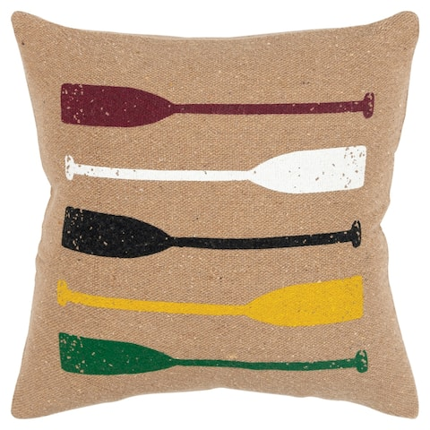 "Rizzy Home Oars 20""x20"" Pillow"