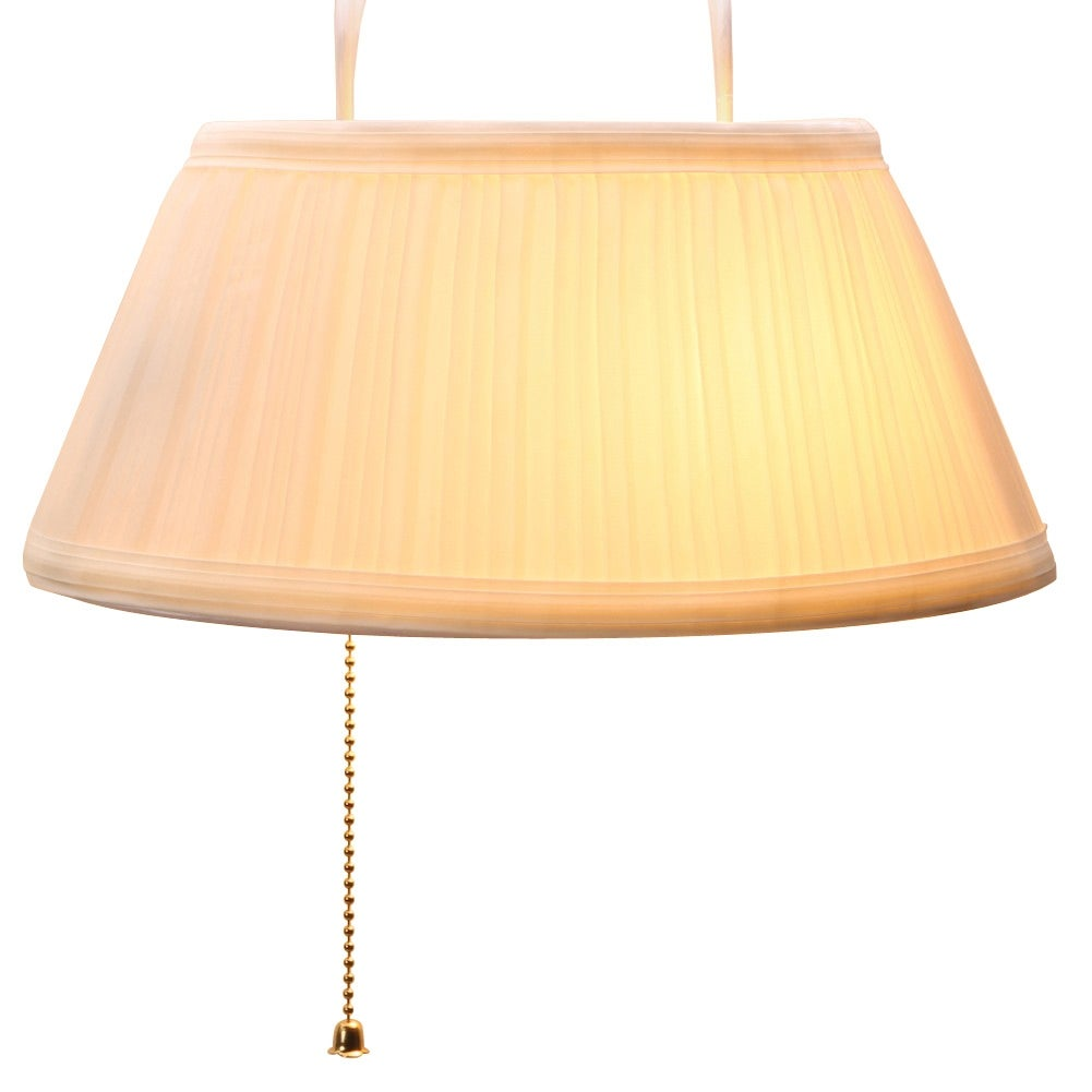 quality design 08374 67b03 Over the Headboard Hanging Bed Lamp - Cream - 10 in. x 11 in. x 8 in.