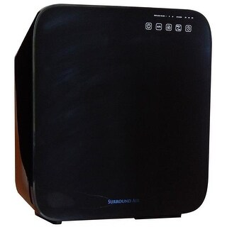 SurroundAir 6 in 1 Ionic Air Purifier with True HEPA, Germ