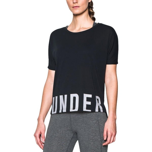 Under Armour Womens Yoga Fitness T-Shirt