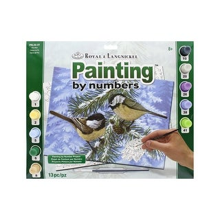 Royal Paint By Number Adult Lg Pine Birds