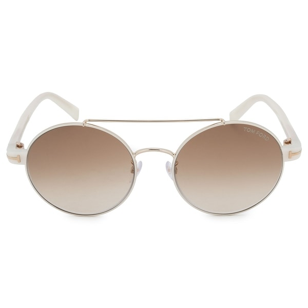 d424911e10 Shop Tom Ford Round Sunglasses FT0486-D 33F 55 - Free Shipping Today ...