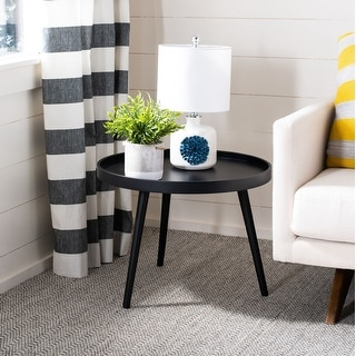 Safavieh Fritz Round Tray Top Side Table