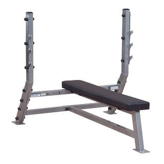 Body-Solid Pro ClubLine Deluxe 2x3 Flat Bench - metal