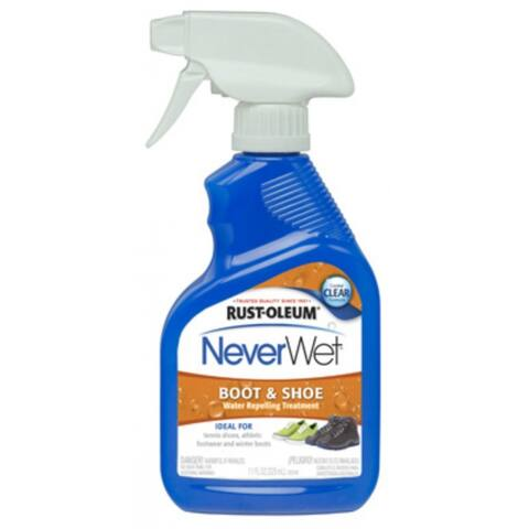 Rust-Oleum 280886 NeverWet Boot & Shoe Water Repelling Spray, 11 Oz