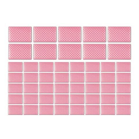 Saleen Rectangular Mat Restaurant Bundle (Candy Red, Set of 50)