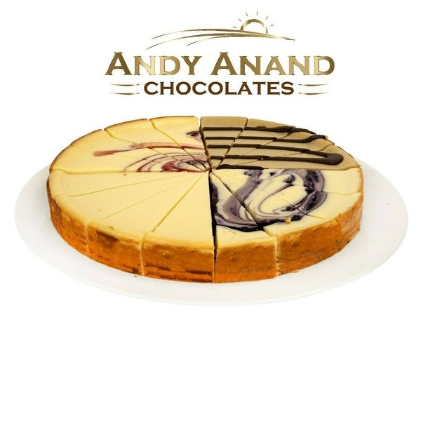 """Sampler Cheesecake 9"""" With 2nd Day Shipping (2 lbs)"""