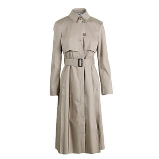 BOSS Hugo Boss Womens FS_Cigani Trench Coat Lined Solid