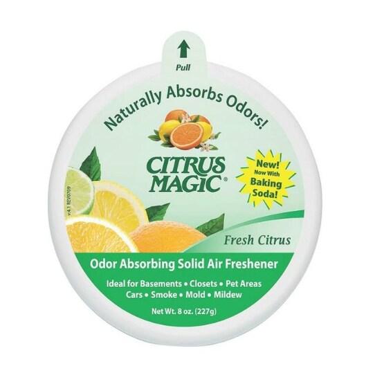 Citrus Magic 616471279 Solid Air Freshener, 8 Oz, Citrus Scent
