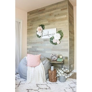 Link to Timberchic Reclaimed Wooden Wall Planks - Peel and Stick Application (Driftwood) Similar Items in Wall Coverings