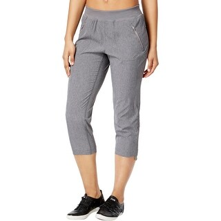Calvin Klein Womens Athletic Pants Cinched Crop