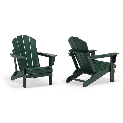 Laguna Folding Adirondack Chair (Set of 2)