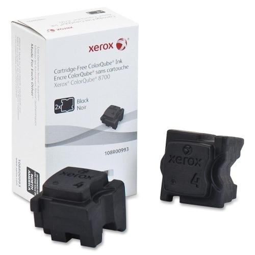 Xerox 108R00993 Xerox Solid Ink Stick - Black - Solid Ink - 2 / Box
