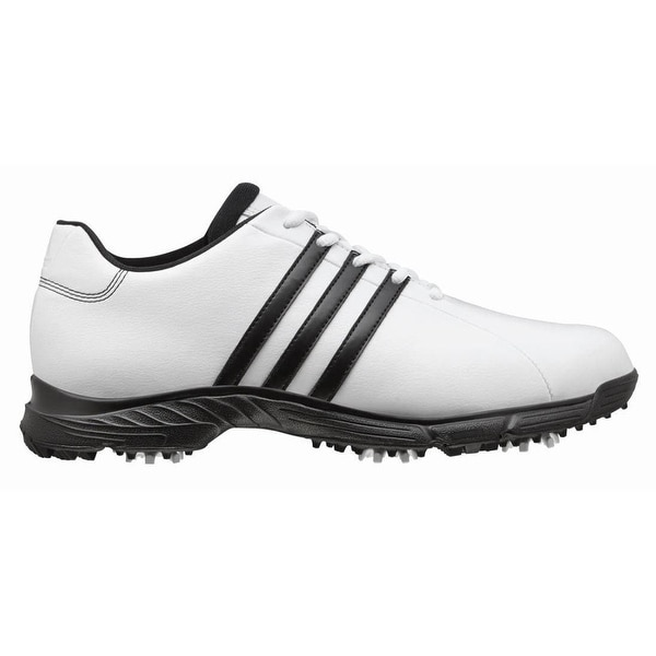 Adidas Men's Golflite TR White/Black Golf Shoes Q47034 (Wide Only)
