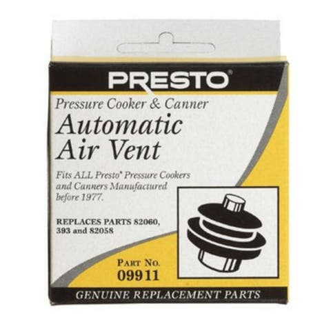 Presto 09911 Pressure Cooker Automatic Air Vent
