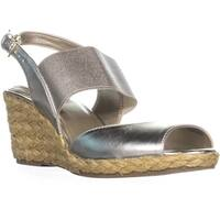 Bandolino Himeka Espadrilles Wedge Sandals, Light Gold/Light Gold