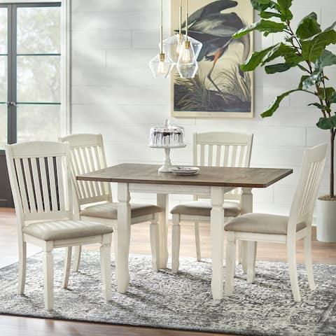Simple Living Maryland Drop Leaf 5-piece Dining Set