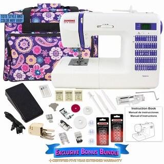 Janome DC2014 Computerized Sewing Machine with Exclusive Bonus Bundle