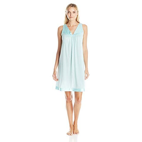 Vanity Fair Women's Coloratura Sleepwear Short Gown 30107