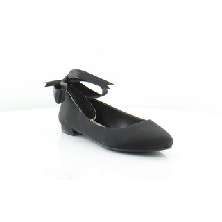 Nina Waltz Women's Flats & Oxfords Black - 6