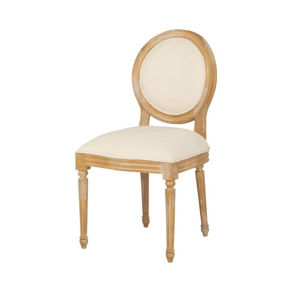 """GuildMaster 7011-408 Allcott 20"""" Wide Wood Framed Fabric Accent Chair - Classic Artisan Stain"""