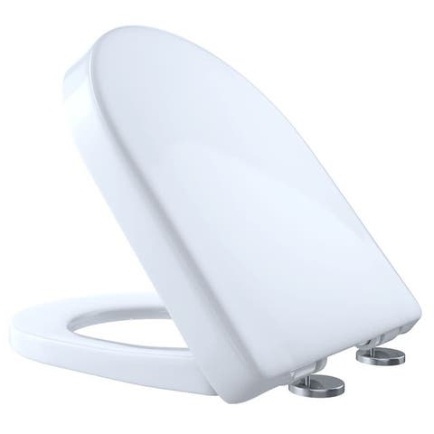 TOTO SS237R Slim D-Shaped SoftClose Toilet Seat - Cotton
