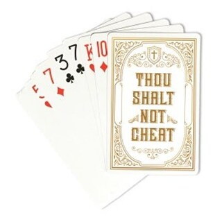 Swanson Christian Supply Thou Shalt Not Playing Cards - Pack of 3