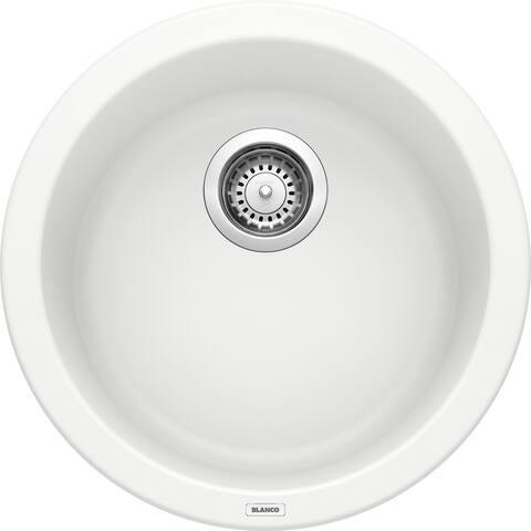Blanco SILGRANIT Granite Composite Sink CORONDO Bar Sink White