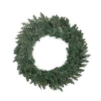 "30"" Traditional Holiday Pine Artificial Christmas Wreath - Unlit - green"