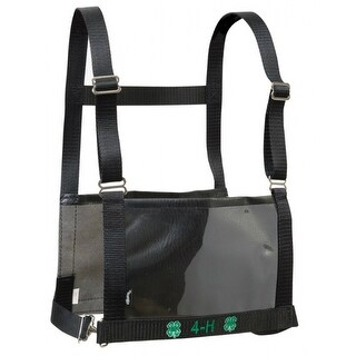 Weaver 35-8103-BK 4-H Exhibitor Number Harness, Small/Medium, Black