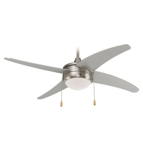 "Miseno MFAN-7001 50"" Indoor Ceiling Fan - Includes 4 MDF Blades, Light Kit and Bulbs"