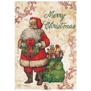 Merry Christmas Outdoor Flag-Mini - 12 x 18, Christmas Decor by Lang Companies
