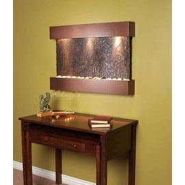 Adagio Reflection Creek With Rajah Natural Slate in Copper Vein Finish Fountain