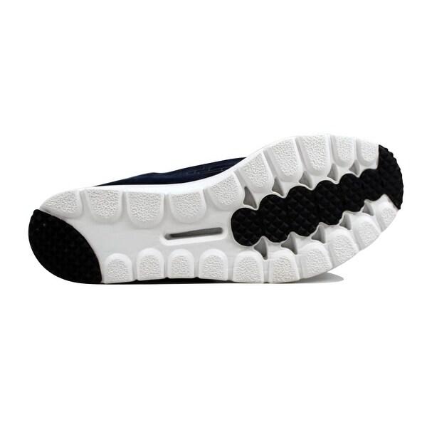 Men's Nike Mayfly Leather Premium Shoes Black Black Dark