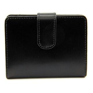 Jack Georges Tri-Fold Leather Wallet